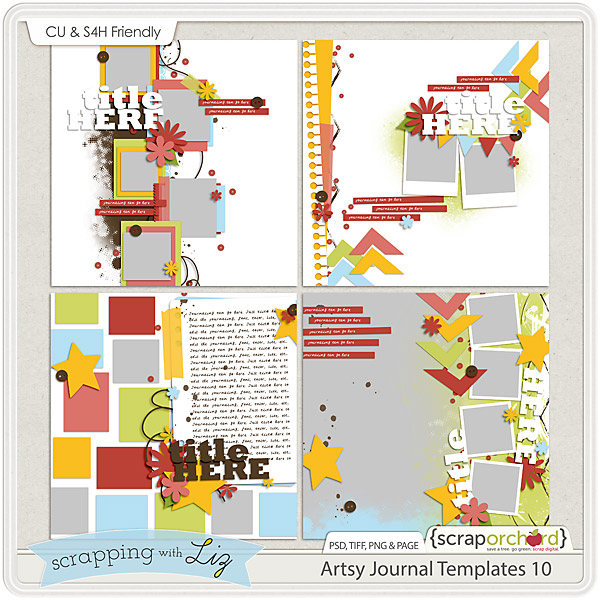 http://scraporchard.com/market/Artsy-Journal-10-Digital-Scrapbook-Templates.html