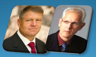 Klaus Iohannis și Viorel Iuga. În tot răul este și un bine