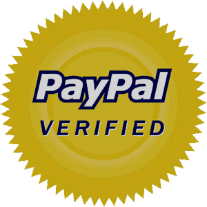 We are Paypal Verified, your assurance that this is not a scam.
