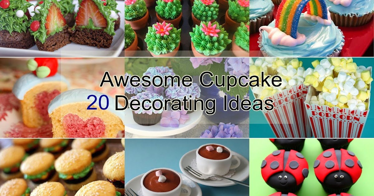 20 awesome cupcake decorating ideas handy diy for 4 h decoration ideas
