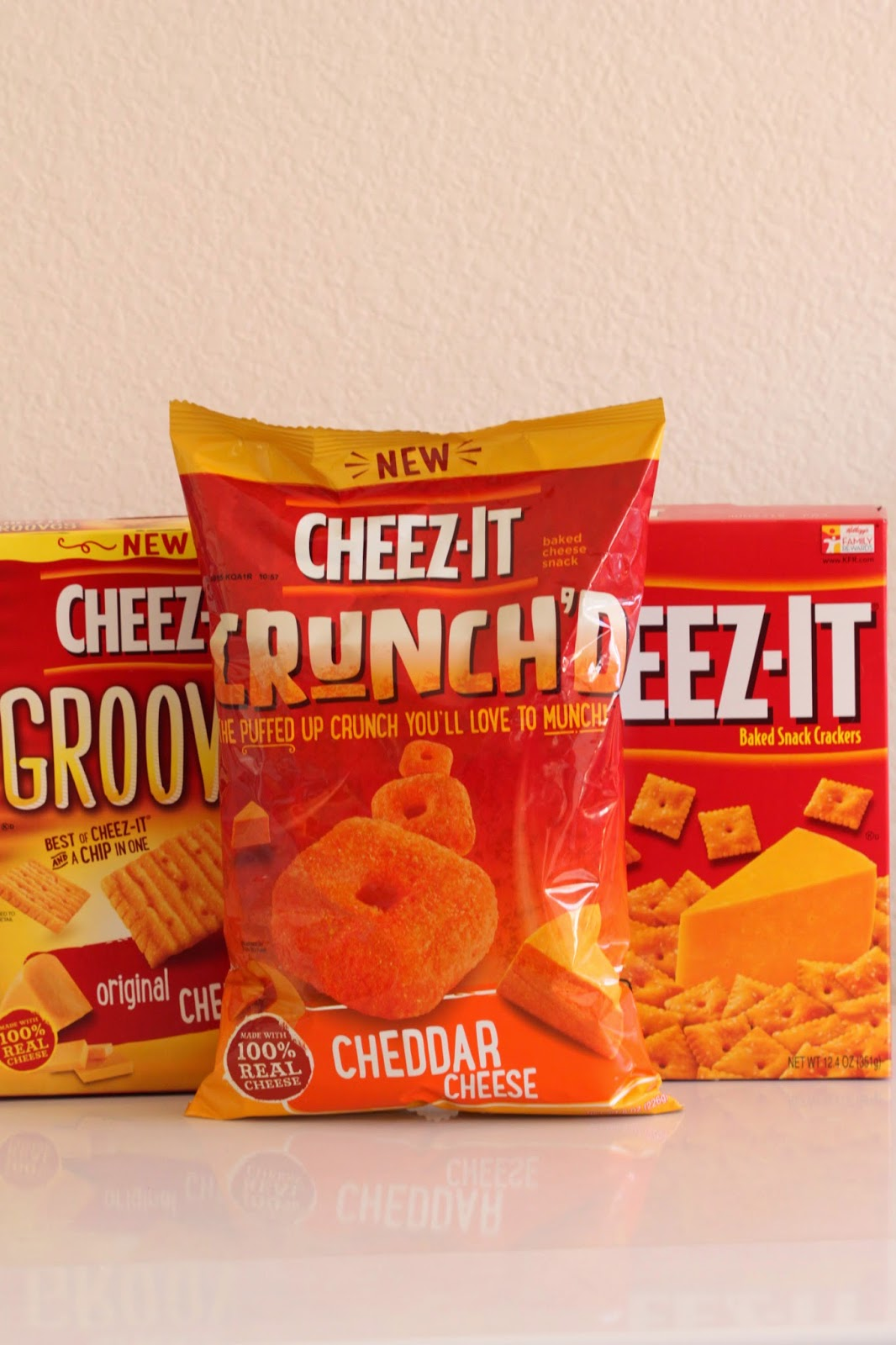 Cheez-It Crunch'd and Cheez-It Grooves