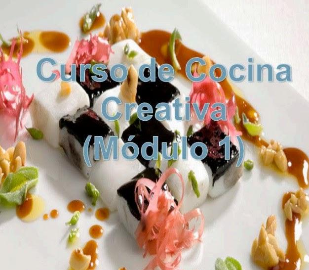 Curso de cocina creativa recetas de cocina faciles for Curso de gastronomia pdf