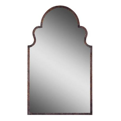 UTTERMOST BRAYDEN ARCHED MIRROR