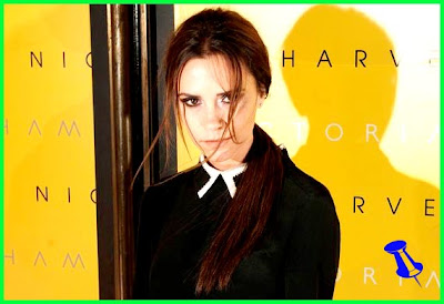 Victoria Beckham is too posh too smile