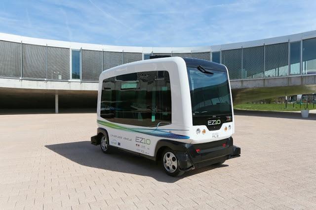 Самоуправляемые автобусы уже перевозят пассажиров в Сингапуре и в США