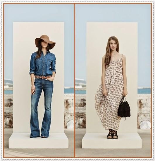 Mango Frühjahr/Sommer Kollektion 2015