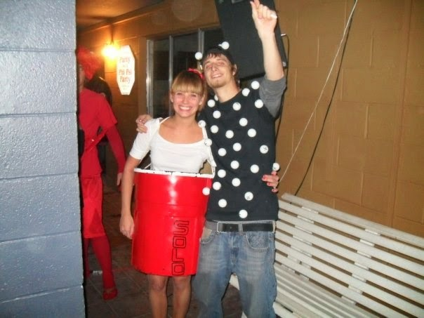 Cup Costume Halloween Halloween 2009 Red Solo Cup