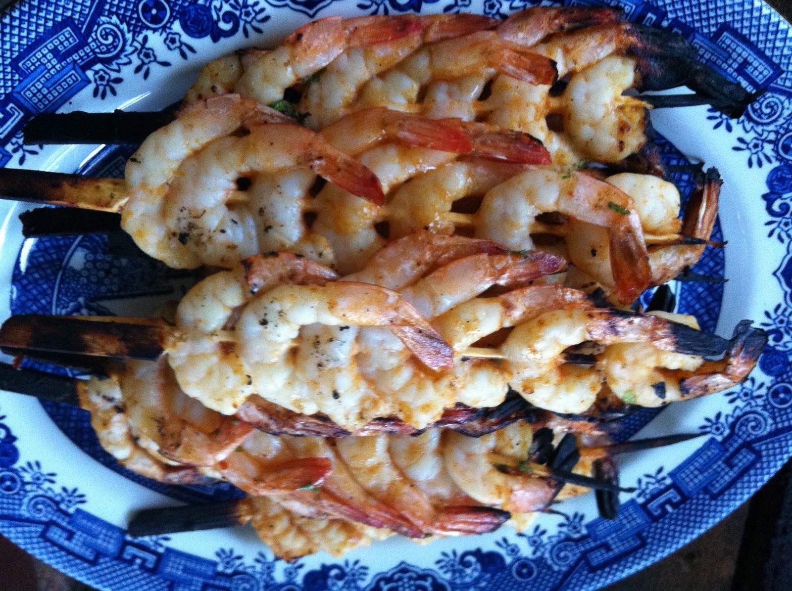Zine: Portugal - BBQ Piri Piri Prawns with Tomato Rice