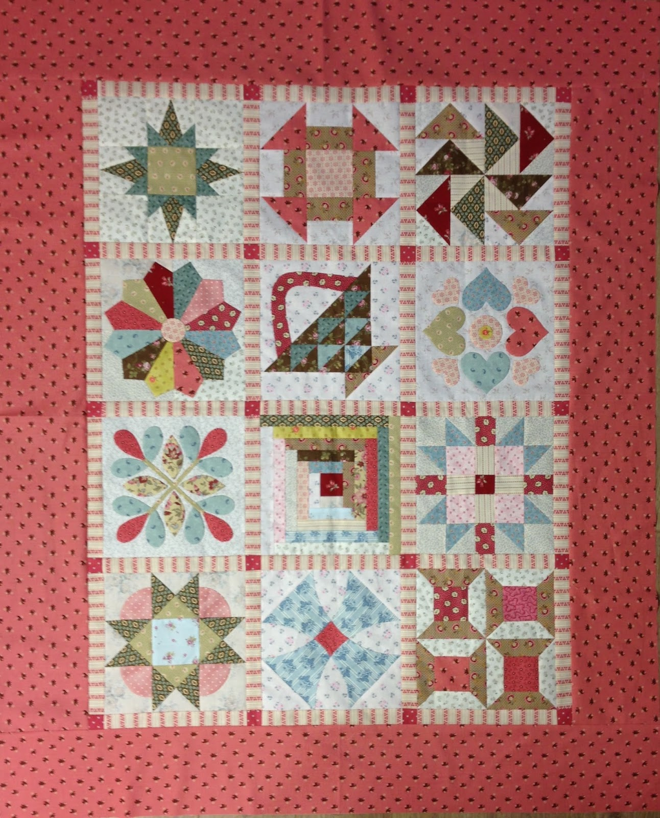 Basiscursus patchwork gegeven door Willy