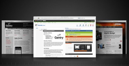 Free Gantry - For Joomla and WordPress Template