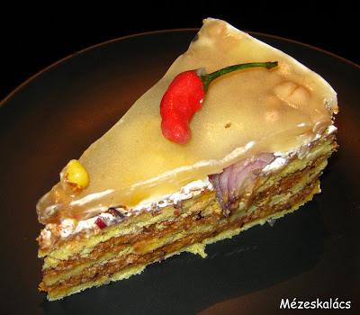 Sós torták