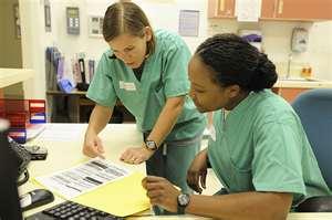 Example nursing diagnosis
