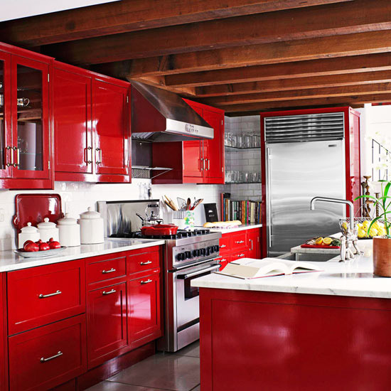 New home interior design warm color schemes for New kitchen colors schemes