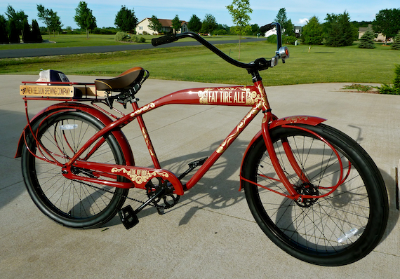 Side view image of the Custom Fat Tire 2011 Anniversary bicycle by Felt Bicycle Company