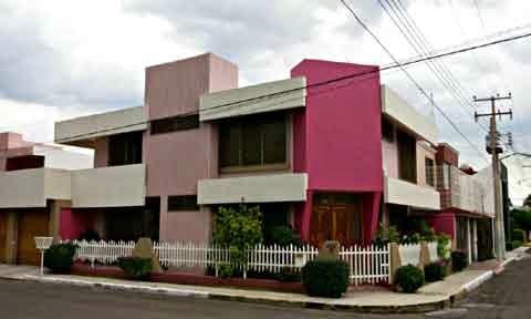 gambar desain rumah mexico