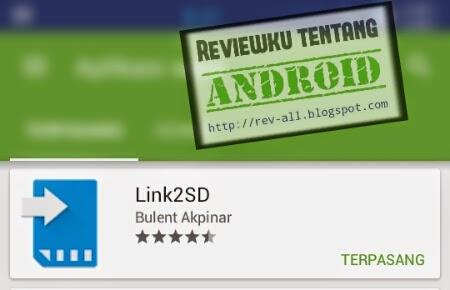 Ikon dan nama aplikasi Link2SD - Pindah aplikasi ke memori SD, hapus aplikasi sistem, dll (rev-all.blogspot.com)