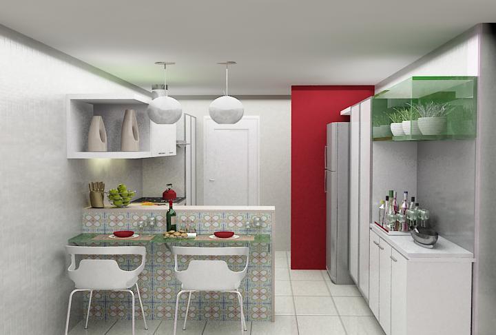 decoracao cozinha dicas : decoracao cozinha dicas:Cozinha Americana Pequena E Simples