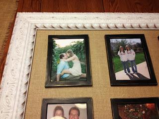 DIY Frame Inside a Frame