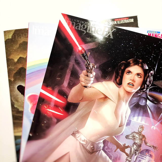 Imagine FX Issue 122 June 2015 Film Art Star Wars Cover