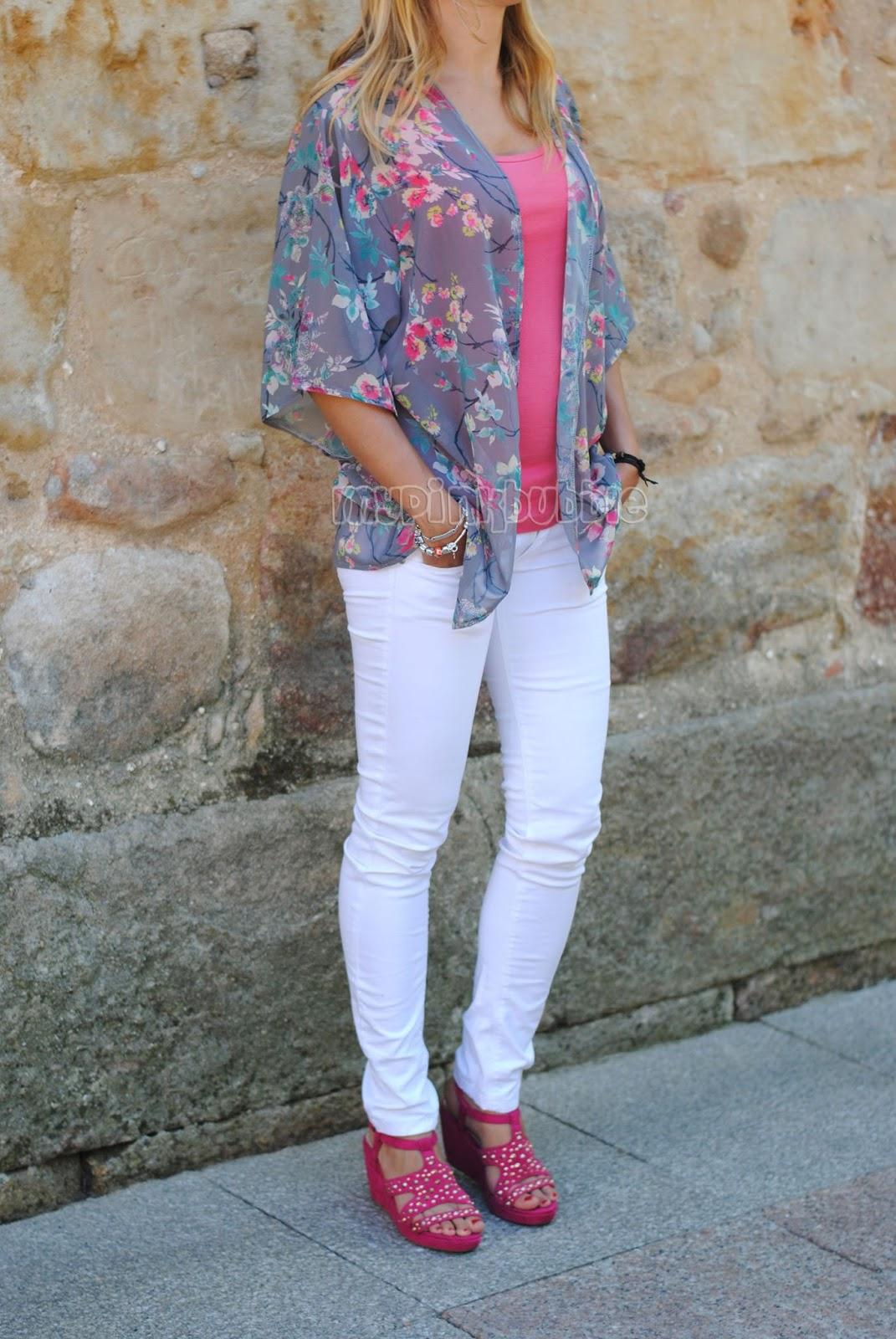 Kimono Primark outfit entero