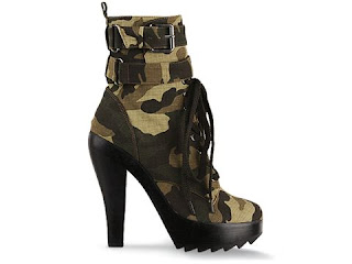 Jeffrey Campbell Boot Camp in Camouflage