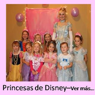 animacion de cumpleaños princesas