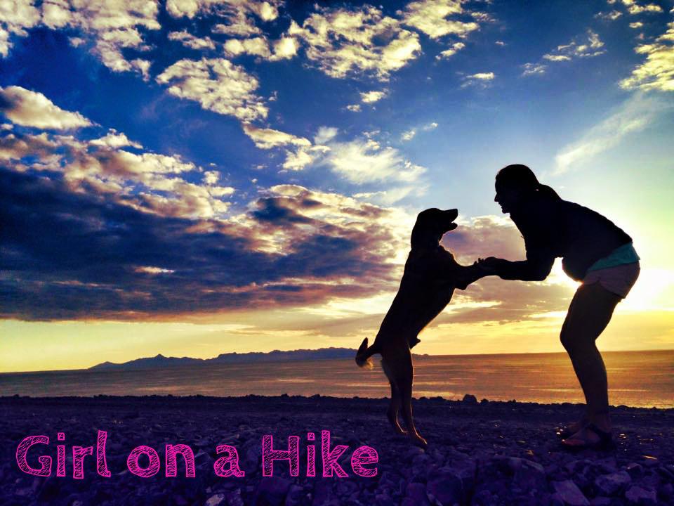 Girl on a Hike