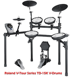Roland Drum Set - V-Tour Series TD-15K V-Drums