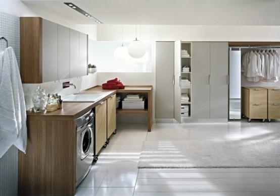 Lavander a moderna decora tu casa fotos dise o y for Diseno de bano y lavanderia