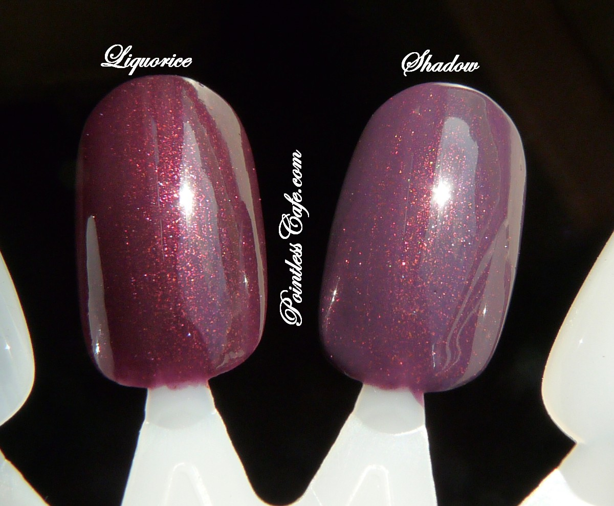 Dior Liquorice Swatches A Shadow Comparison Happy Bday To Brunbrun Paris Ultra Rich Lipstick Vs