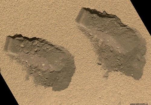 Akhirnya, Curiosity Berhasil Menemukan Air di Planet Mars