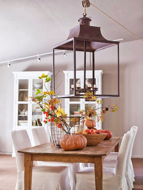Modern furniture 2013 easy fall decorating projects ideas - Simple fall centerpiece ideas ...