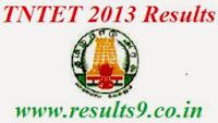 Tamil Nadu TET TNTET Results 2013