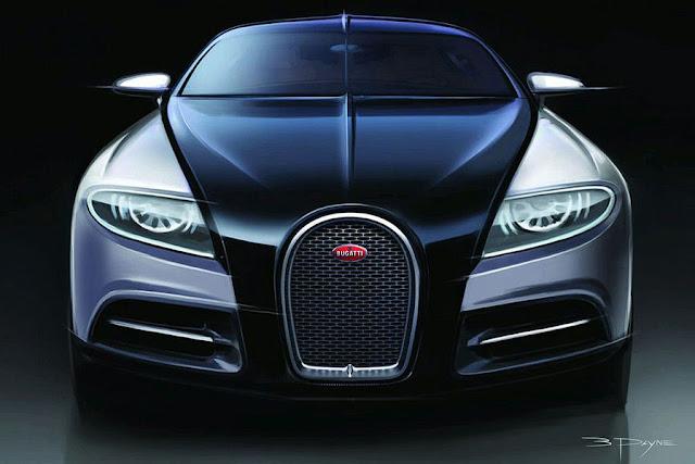 Gentil ... Bugatti 16 C Galibier. Concept Drawings: