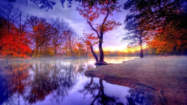 autumn landscape full hd desktop