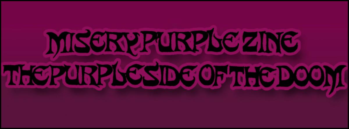 Misery Purple Zine
