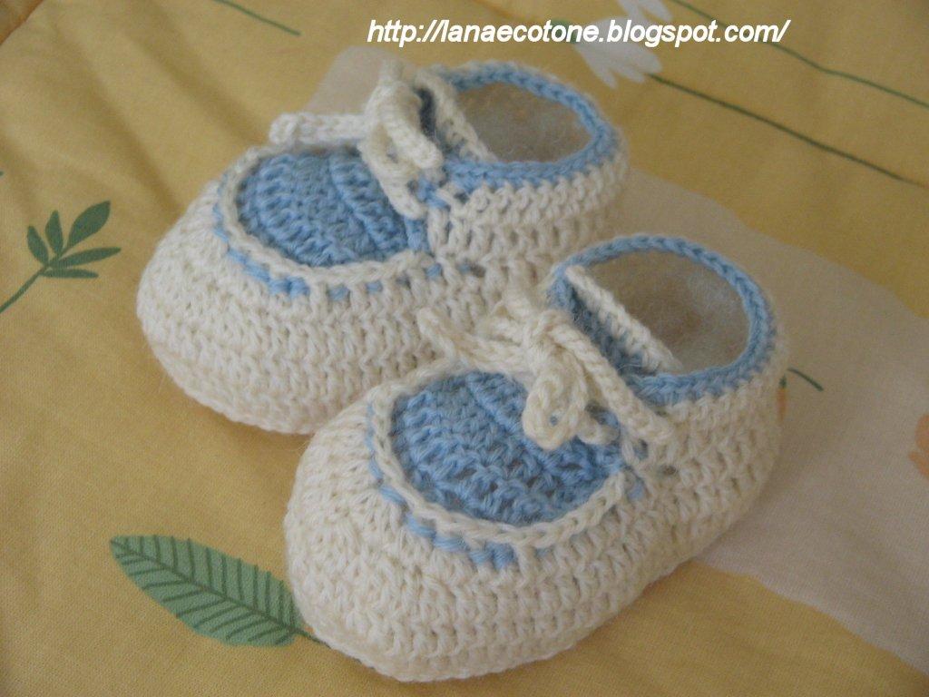Lana e cotone maglia e uncinetto completo all 39 uncinetto per neonato - Bagno 37 silvana bellaria ...
