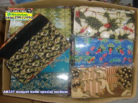 dompet batik spesial medium jual