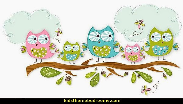 Owl Theme Bedroom Decorating Ideas   Owl Room Decorations   Owl Themed Baby  Nursery   Owls