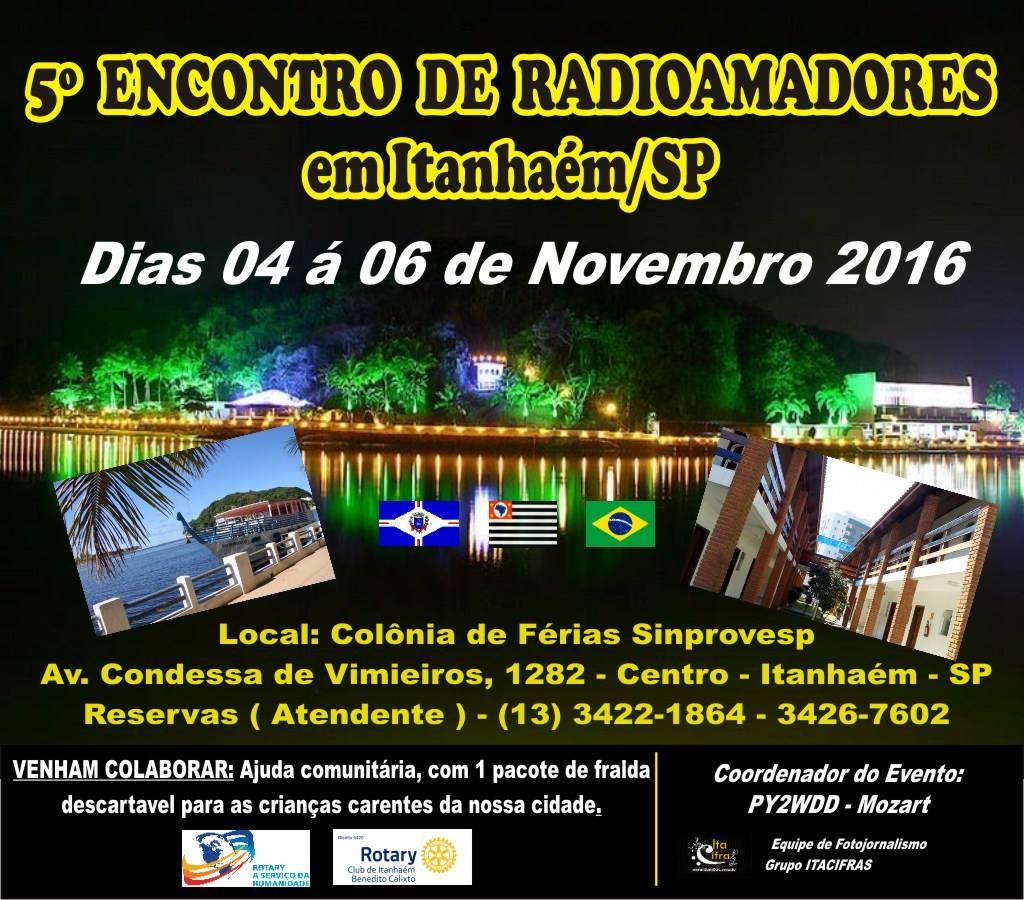 5º ENCONTRO DE RADIOAMADORES