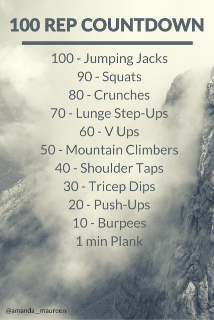 Workout Wednesday, HIIT, Body Weight Exercise