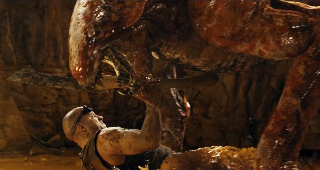 3 Clips Of Riddick Riddick Vs Alien Teaser Trailer