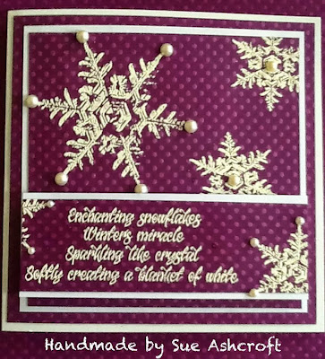 snowflakes stamps - snowflakes verse - visible image