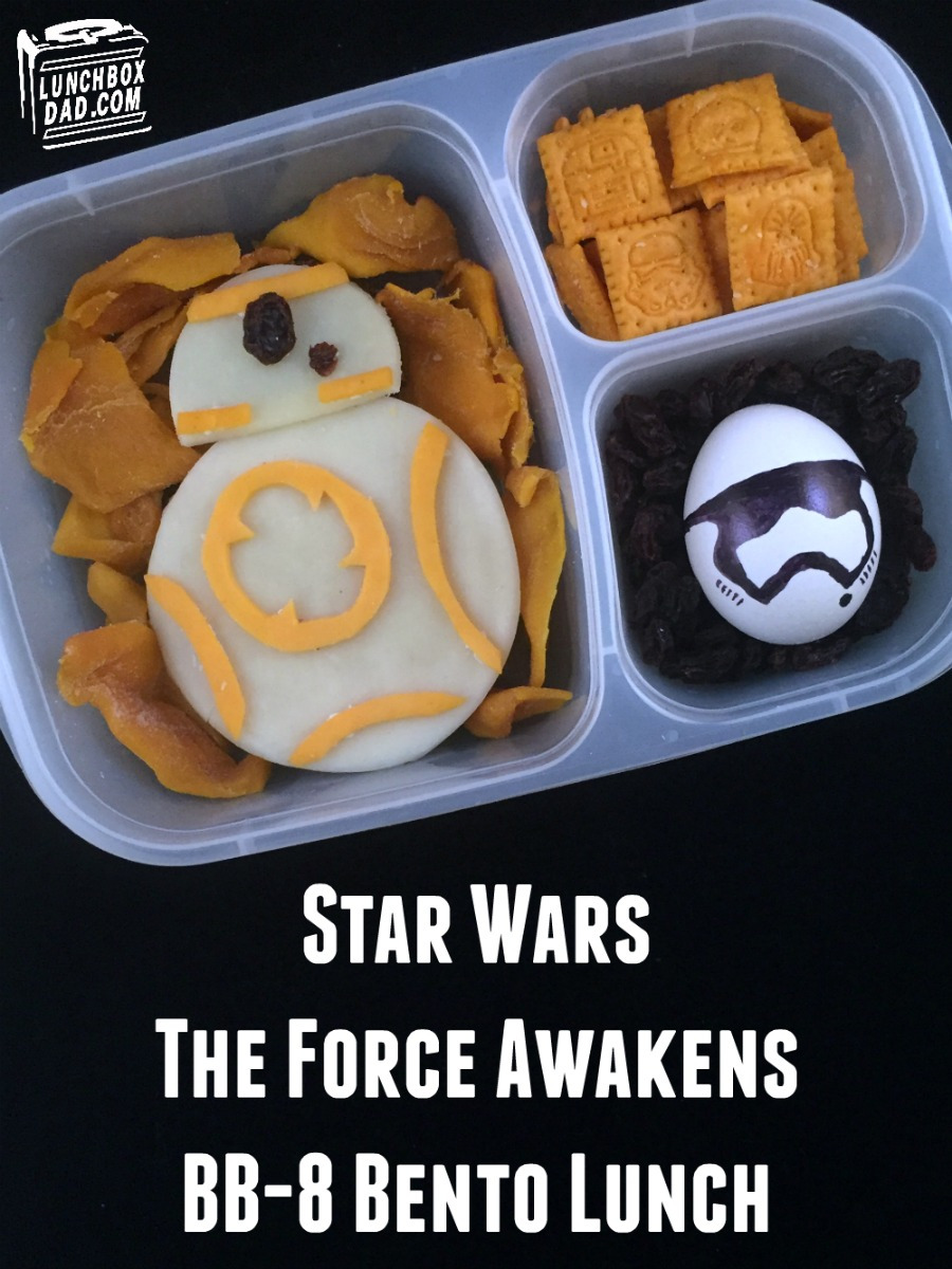Lunchbox Dad: How to Make a Star Wars The Force Awakens BB-8 Bento ...
