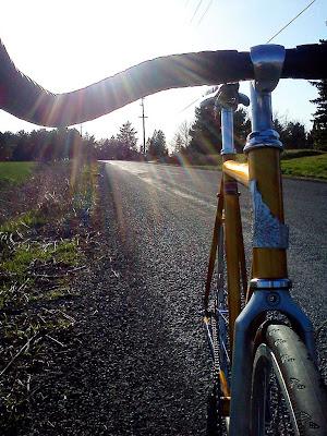 Sepeda Fixie Kuning