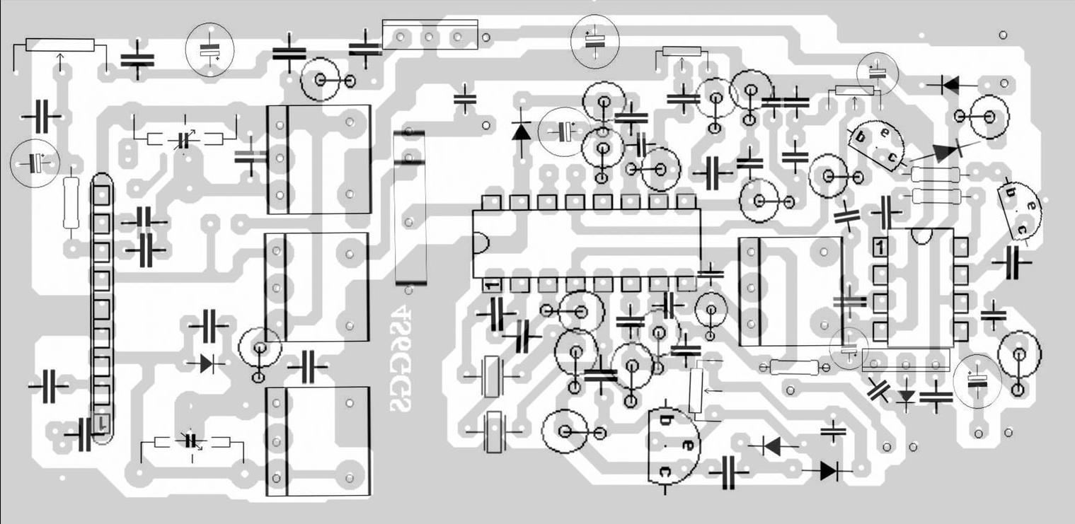 4s6ggs 144mhz 146mhz Receiver Homebrew 144 Mhz Transceiver Block Diagram Component Side Size H508mm 10333mm