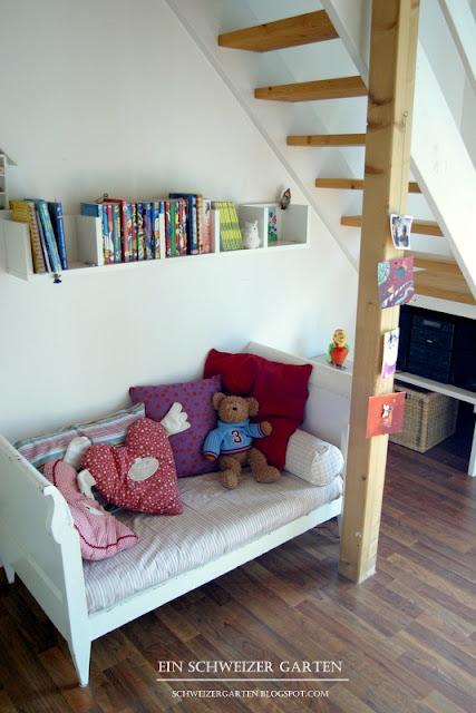 Ein schweizer garten girls room teil 2 for Kinderzimmer einrichtung ikea