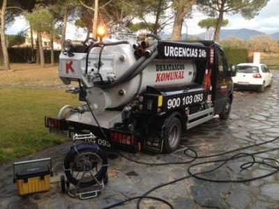 Limpieza de fosas sépticas en Santa Coloma