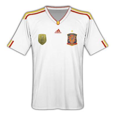 Spain Kit 2012