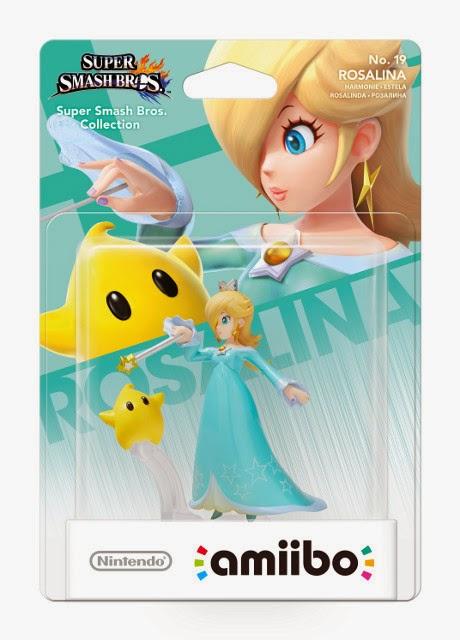 JUGUETES - NINTENDO Amiibo - 19 : Figura Estela : Rosalina  (23 enero 2015) | Videojuegos | Muñeco | Super Smash Bros Collection  Plataforma: Wii U & Nintendo 3DS